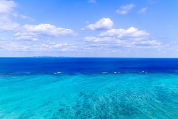 沖縄空撮 やんばるの自然ビーチ