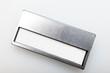 silbernes Namensschild - Anstecker - 77976504