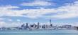 Leinwanddruck Bild - Wide view of Auckland, New Zealand