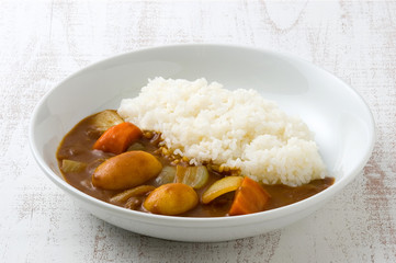 野菜カレー カレーライス
