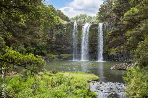 Fotobehang Nieuw Zeeland Gorgeous Waterfall in New Zealand