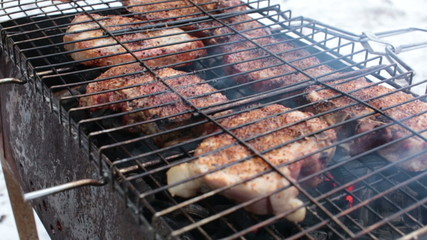 Grill cooked on mongale