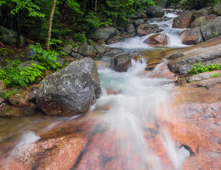 Whitewater at Franconia Notch