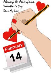 Una lettera d'amore per San Valentino