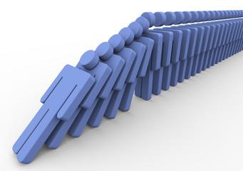 3d men domino