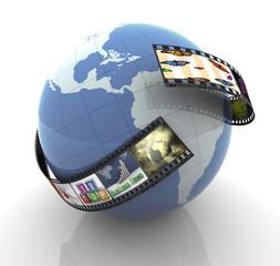 Global multimedia production
