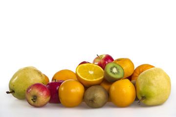 fruit mixed isolated