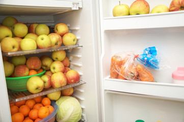 raw food eater fridge