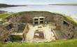 Scottish prehistoric site in Orkney. Skara Brae. Scotland - 77984142