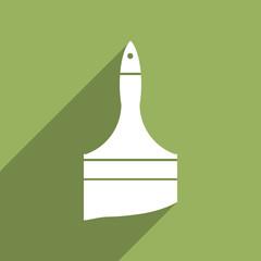 Flat Icon of Paint brush