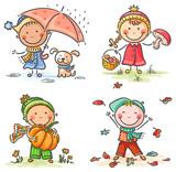 Little kids' autumn activities