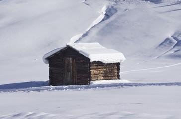 The brown barn