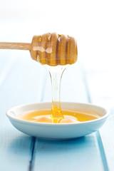 sweet honey on dipper