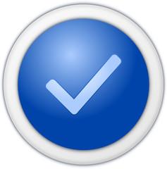 Authorize button blue
