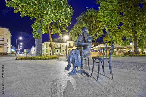 Pomnik Stanisława Bojarczuka w Krasnostawskim parku