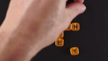 Letters Blocks Spell Market Research