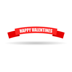 banner happy valentines I