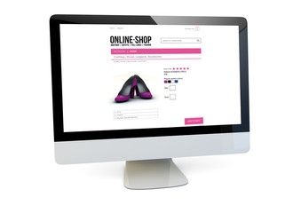 online shop computer