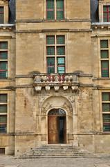 France, the renaissance castle of Cadillac