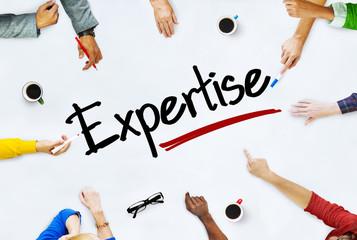 People Working Expertise Brainstorming Meeting Concept