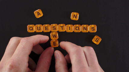 Letters Blocks Questions and Answers