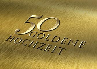 50 - Goldene Hochzeit - Struktur