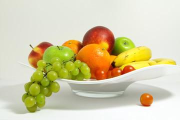 fruitschaal met fruit