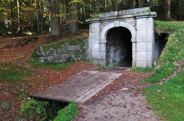 lower entrance Schwarzenberg Navigational Canal