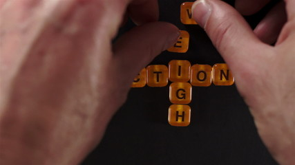 Letters Blocks Spell Weight Reduction