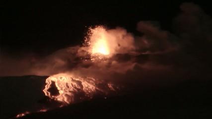 Esplosioni Etna (1 febbraio 2015)