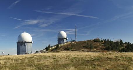 summit of Grosser Arber in Bayerischer Wald