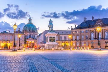 Kopenhagen Marmorkirche, Palast,