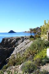 terrasse avec vue sur mer