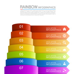 Infographics pyramid