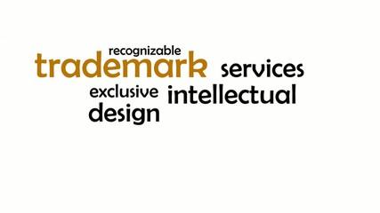 kinetic typography - trademark