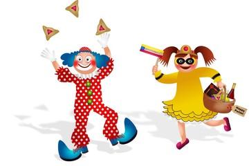 Children Celebrate Purim