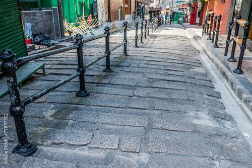 pedestrian streets Soho Central Hong Kong
