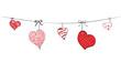 Sketchy Hearts - 77998357