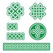 Celtic Irish patterns and braids - St Patrick's Day
