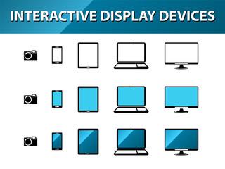 Ecrans et affichages interactifs