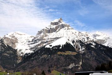 Titlis in Switzerland Alps