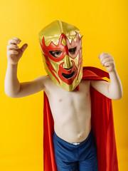 Little mexican wrestler