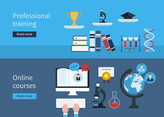 Professional training and online courses