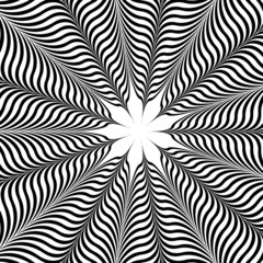 Op Art Flower