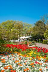 Stadtgarten, Ettlingen, Schwarzwald, Baden-Württemberg, Deutsch