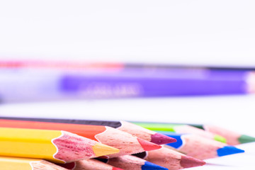 Close-up pencils