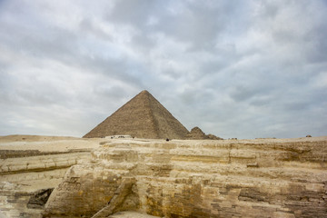 The Great Pyramid of Khufu at Giza