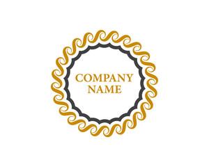 Crest Logo Business