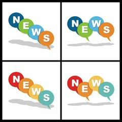 news letter ballon icon