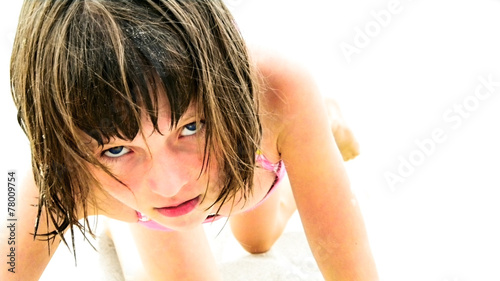 canvas print picture Wild Girl